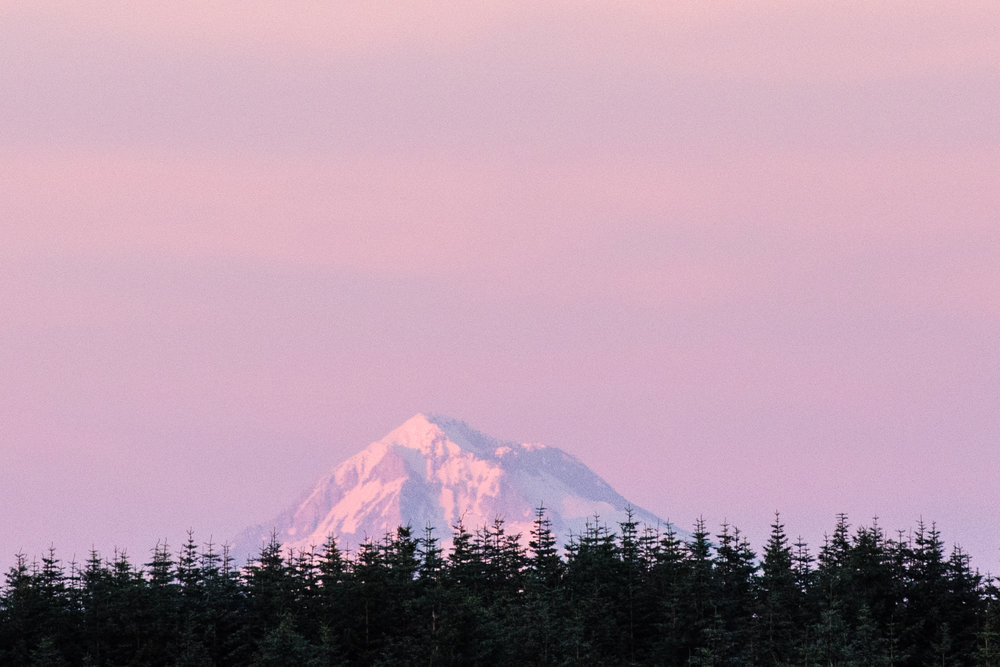 Well, hello there Mt. Hood