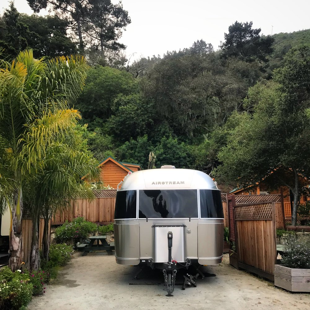 Our sweet spot at Saddle Mountain Ranch in Carmel, CA.