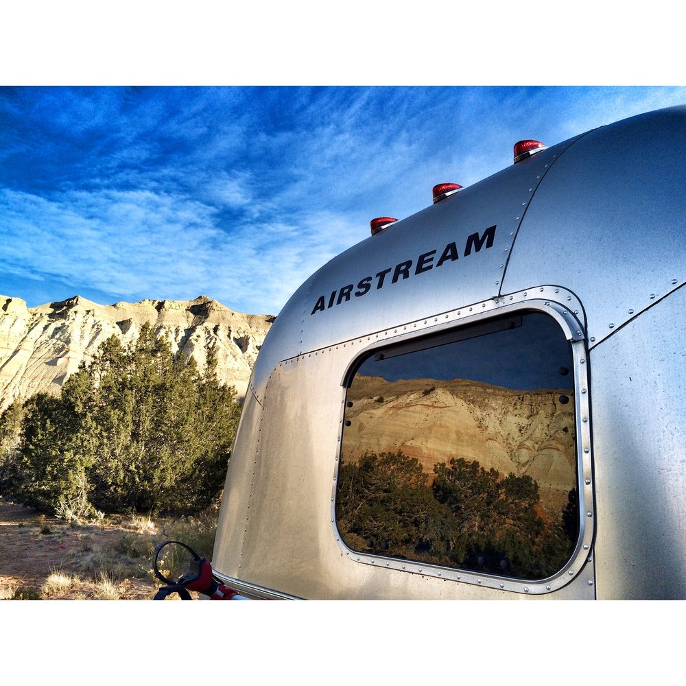 Flashback to 2014 trip to Kodachrome in the wee 19 ft Airstream