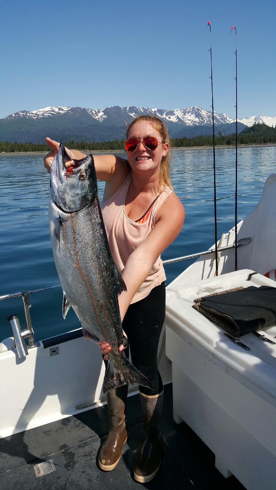 #salmoncharter @alaskasaltwateradventures #akfishing