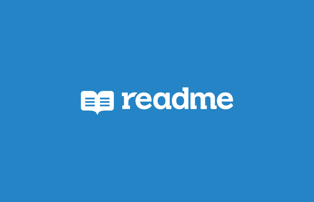 ReadMe   Logo design   Client:  ReadMe.io