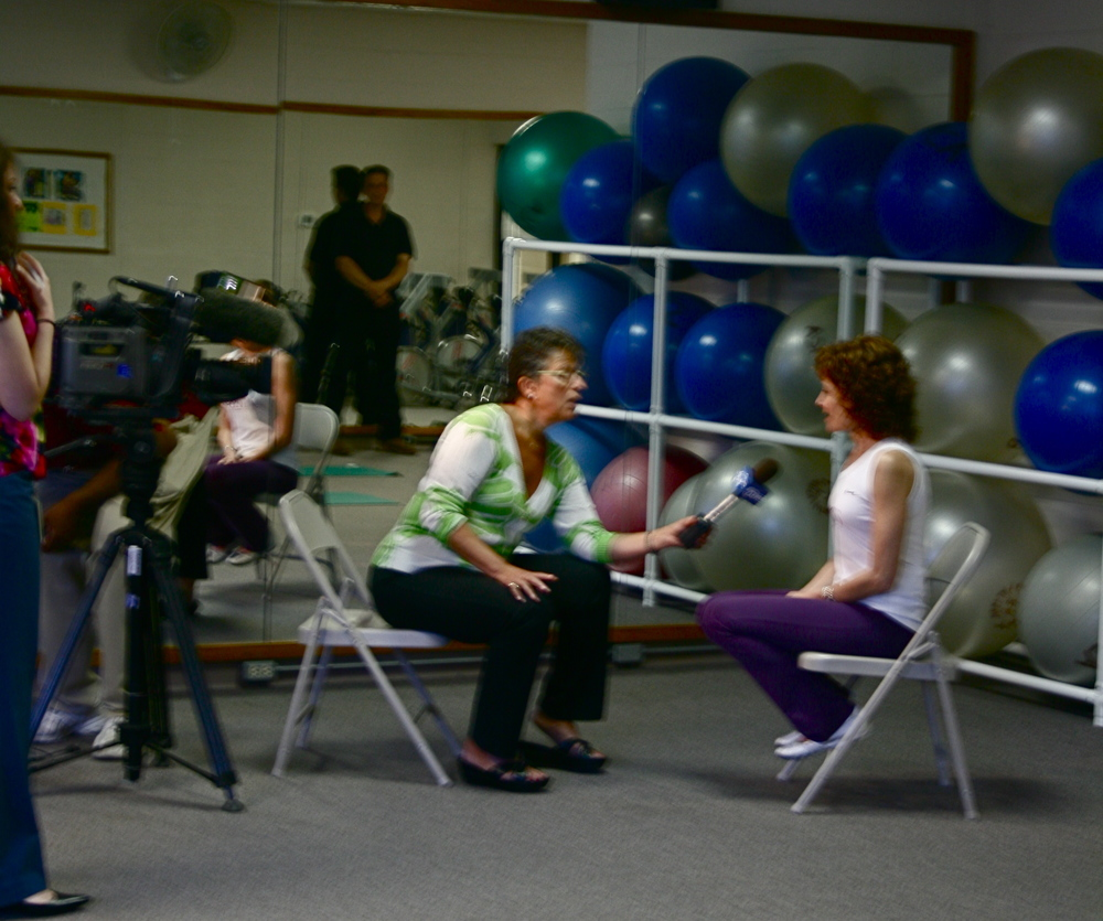 fitMS Featured on ABC7 News 2009