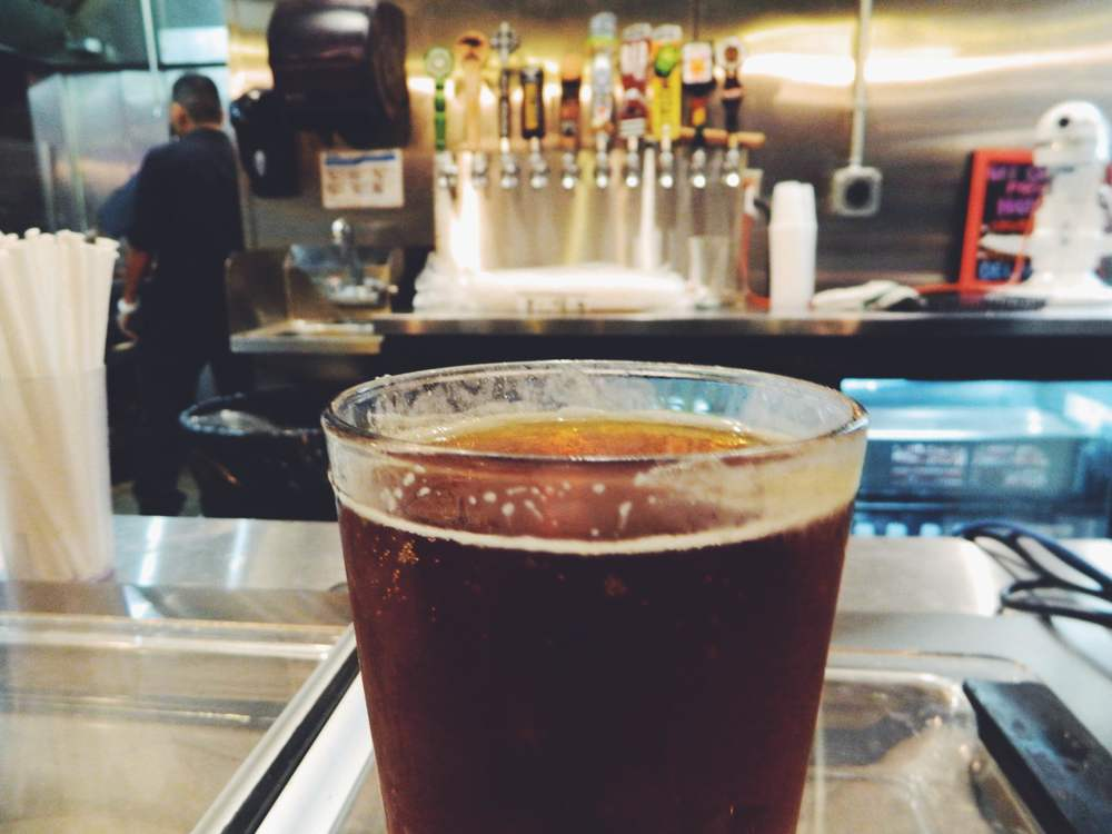 LA restaurant Dirt Dog has a wide selection of craft beers