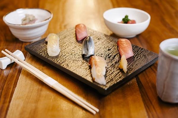 Q Sushi (PC: LA Weekly)