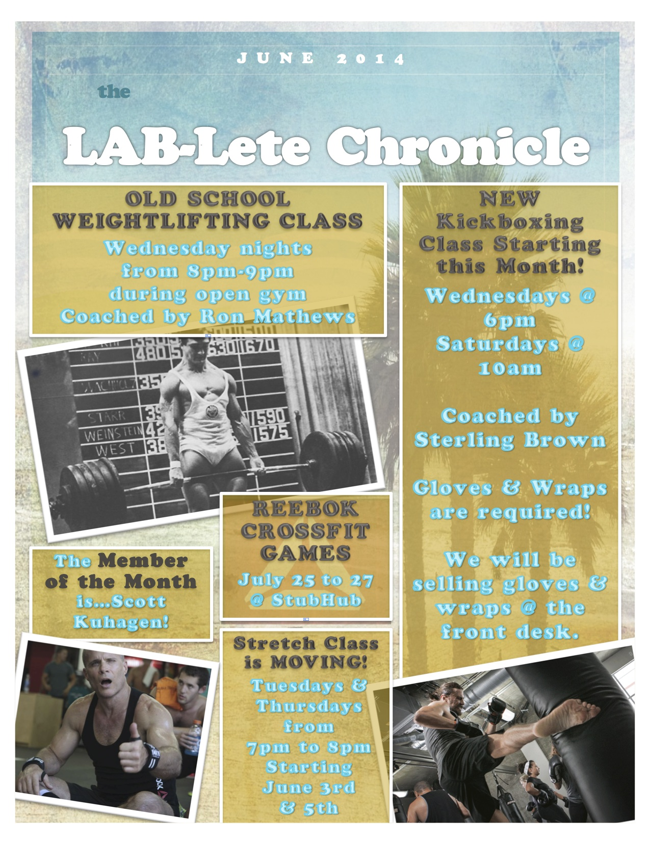 JUNE LAB-LETE NEWSLETTER