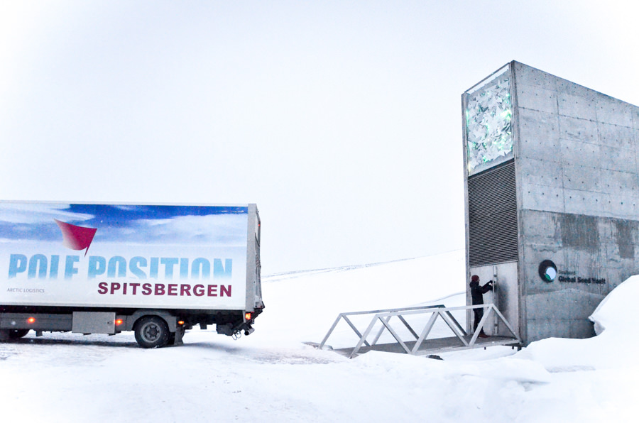 GLOBAL SEED VAULT - food genetics for future generations