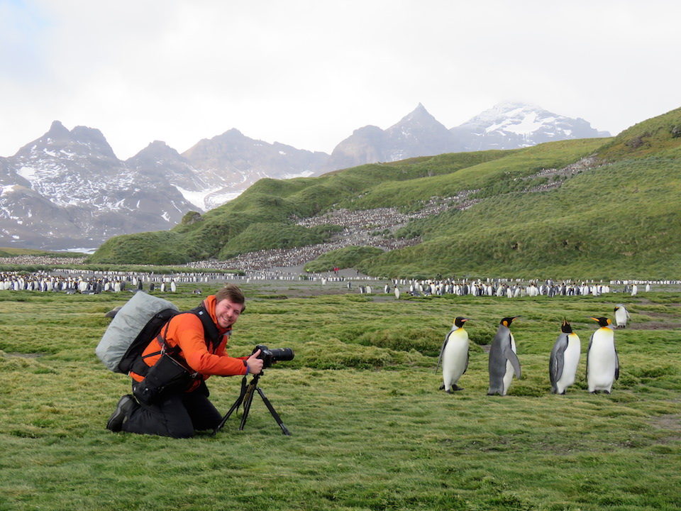 8) photographing pengiuns on South Georgia.JPG