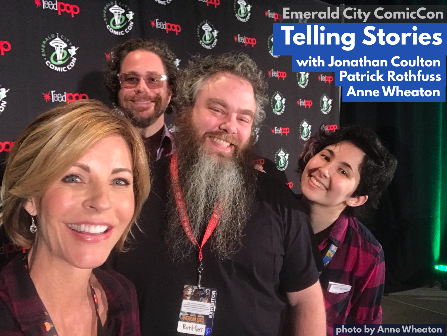 ECCC: Telling Stories (w/ Jonathan Coulton, Patrick Rothfuss
