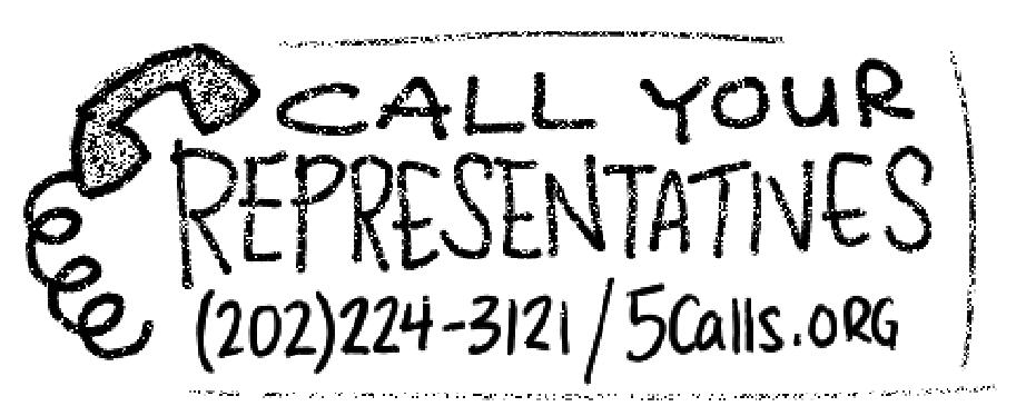 Call ya reps