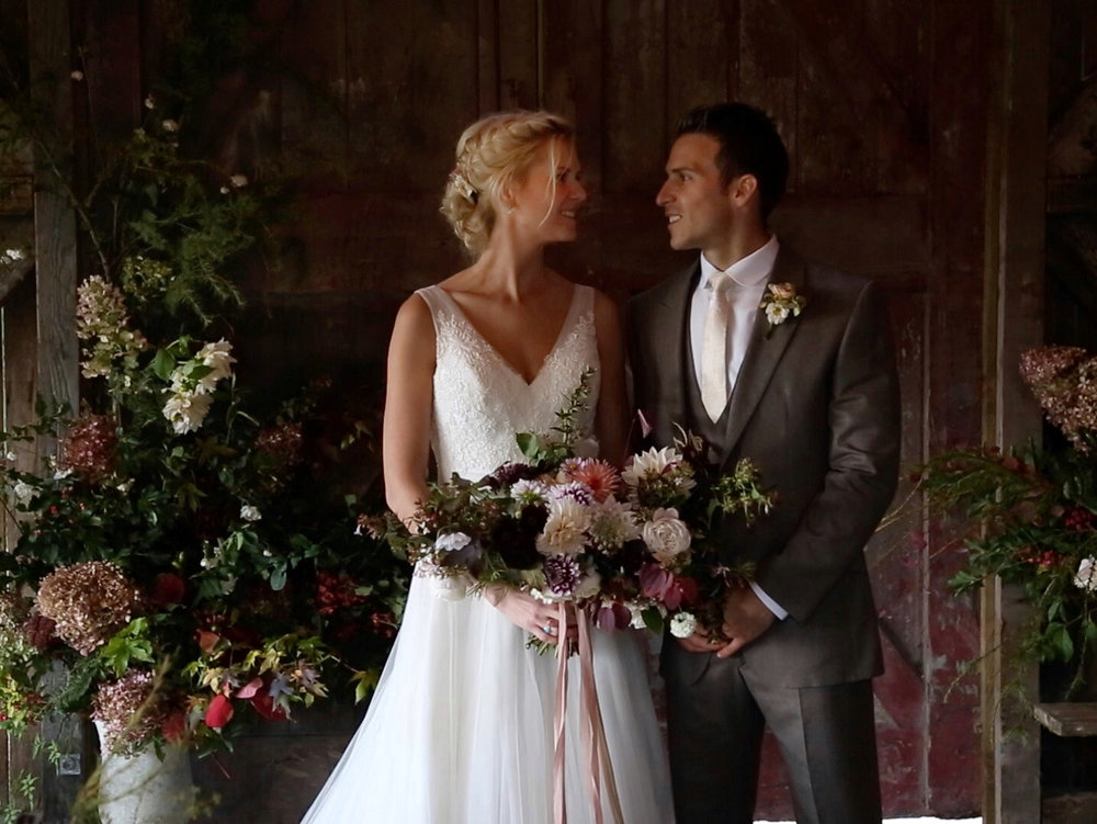 Nancarrow Farm Wedding Film Rusty Barn Ceremony