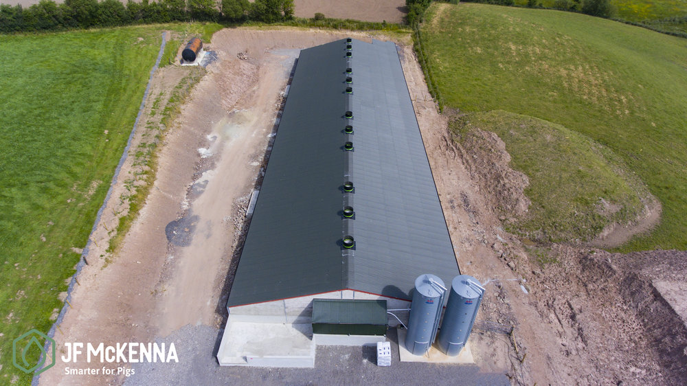FINISHER PROJECT    Northern Ireland   In 2018, JF McKenna worked on this pig project in Irvinestown, Co. Fermanagh.