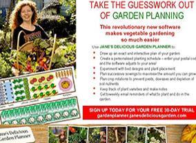 janes delicious garden garden planner good taste - Delicious Garden