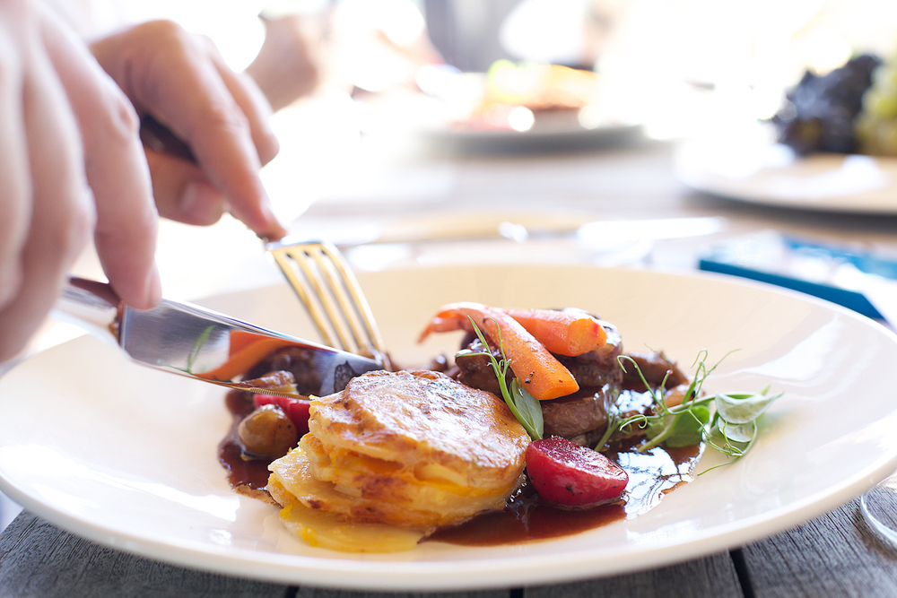 Tasty dishes at Durbanville's Feast of the Grape