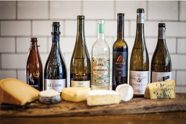 Looking at wine and cheese pairing with new eyes