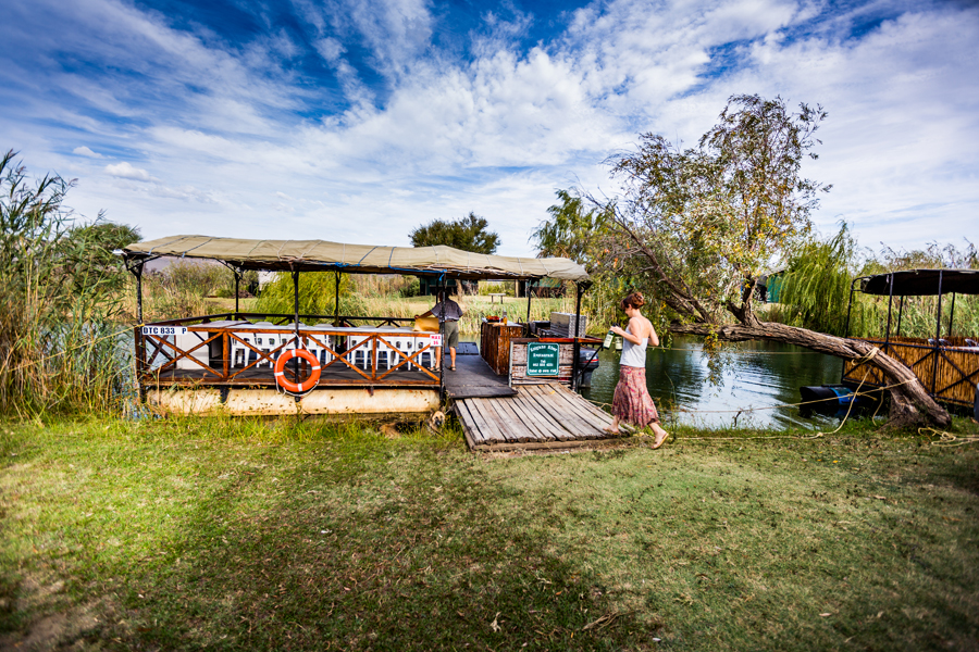Take it slow on the Kolgans River Boat at Nerina Guest Farm