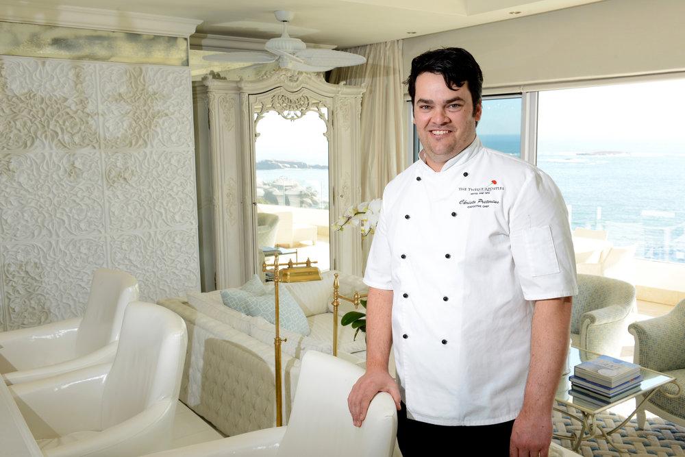 Executive Chef Christo Pretorius