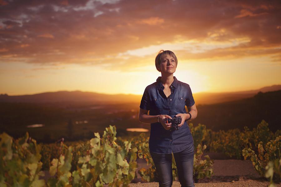 Corlea Fourie, Bosman's award-winning winemaker