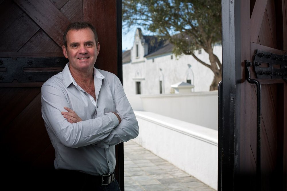 Winemaker Niel Bester