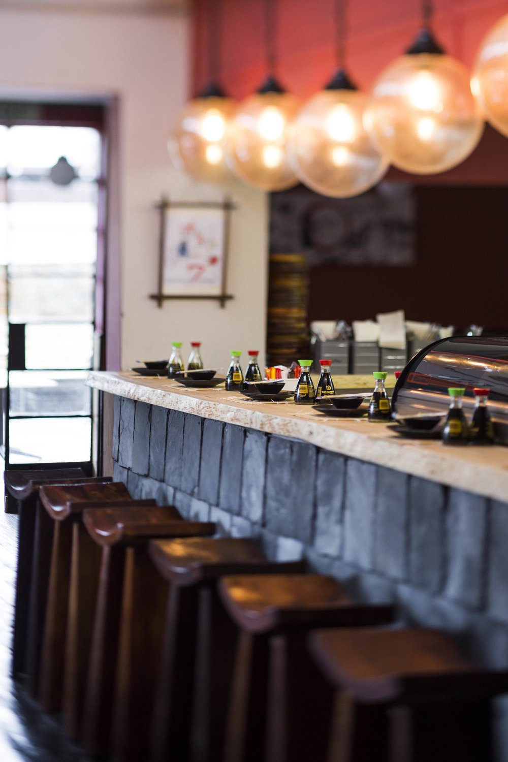 The Sushi Bar. Image by Michael le Grange.