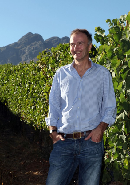 Oldenburg Vineyards owner Adrian Vanderspuy