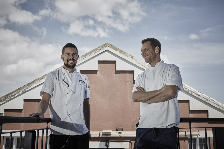 Chef Freddie Dias & Chef Luke Dale-Roberts