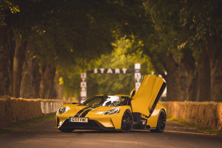 Ford Gt Hits The Road