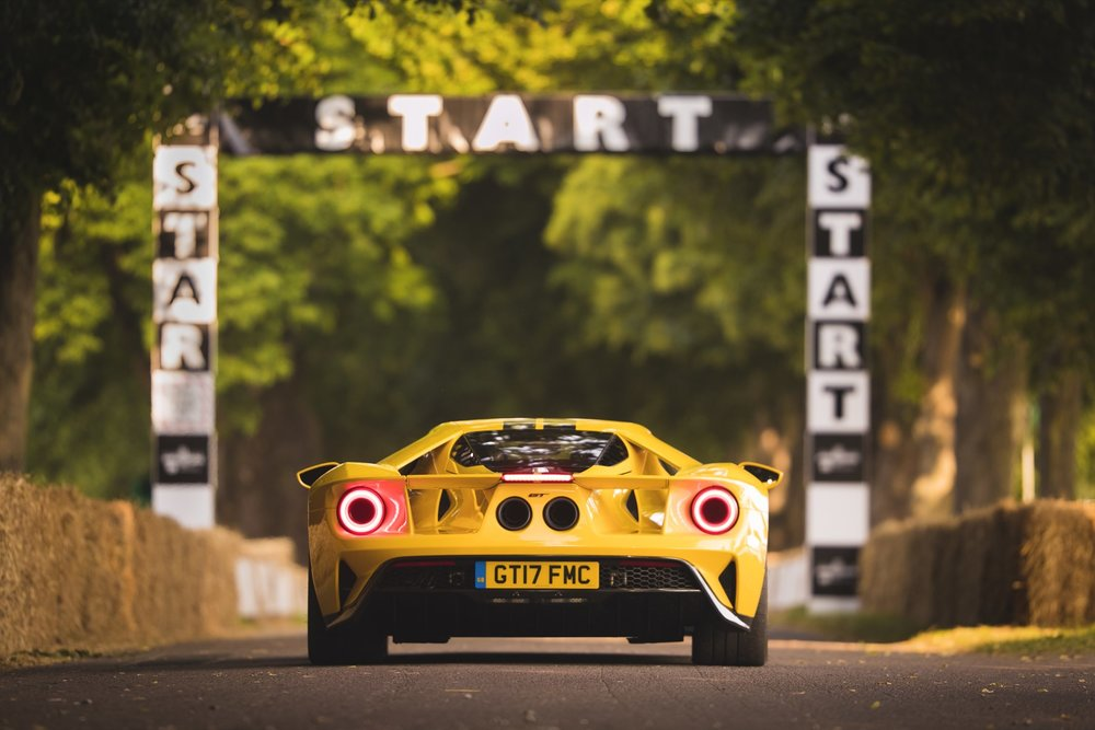 Ford Gt Race Performance At  Goodwood Festival Of Speed