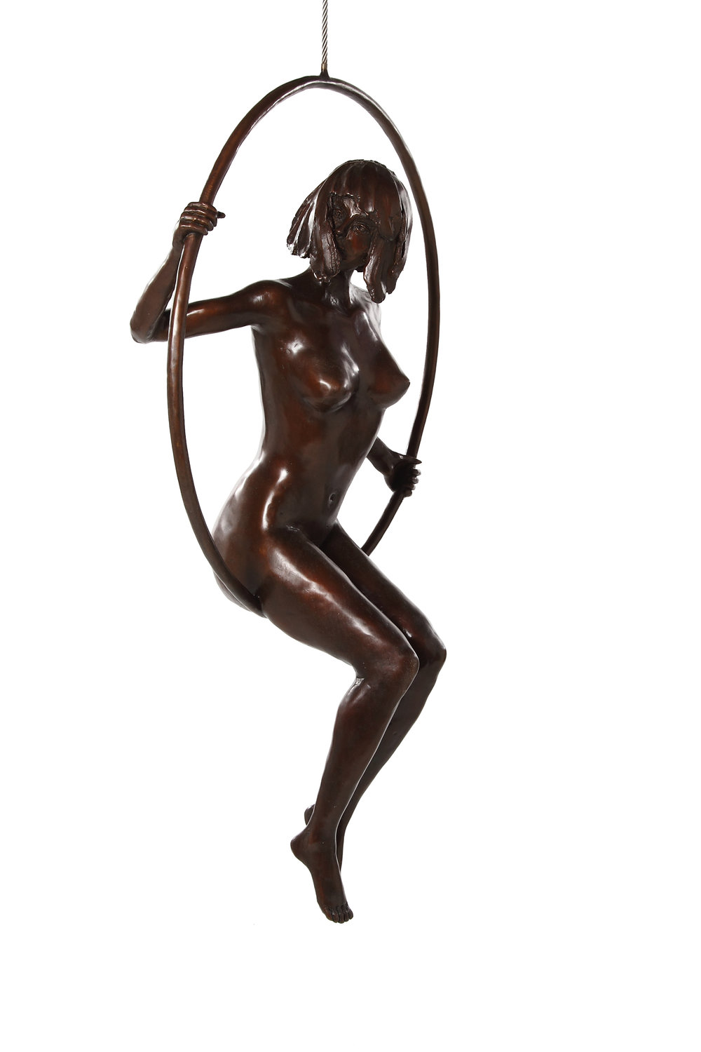 Bronze by Marke Meyer entitled A World of Possibilities