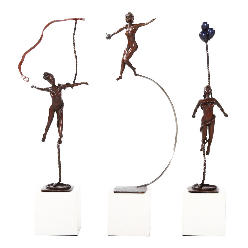 Bronze Miniature Set by Marke Meyer