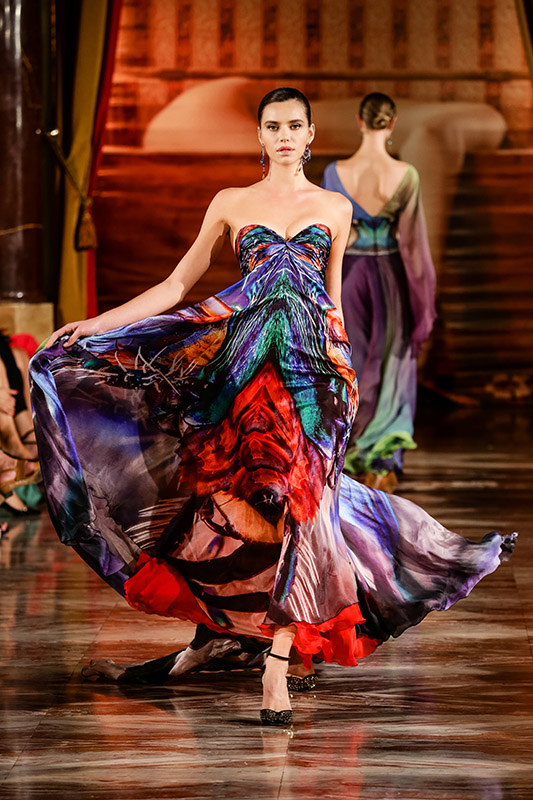 Digitally-printed textiles on demand