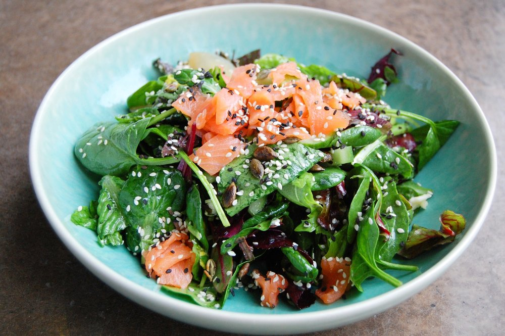 #GTloves the Salmon salad