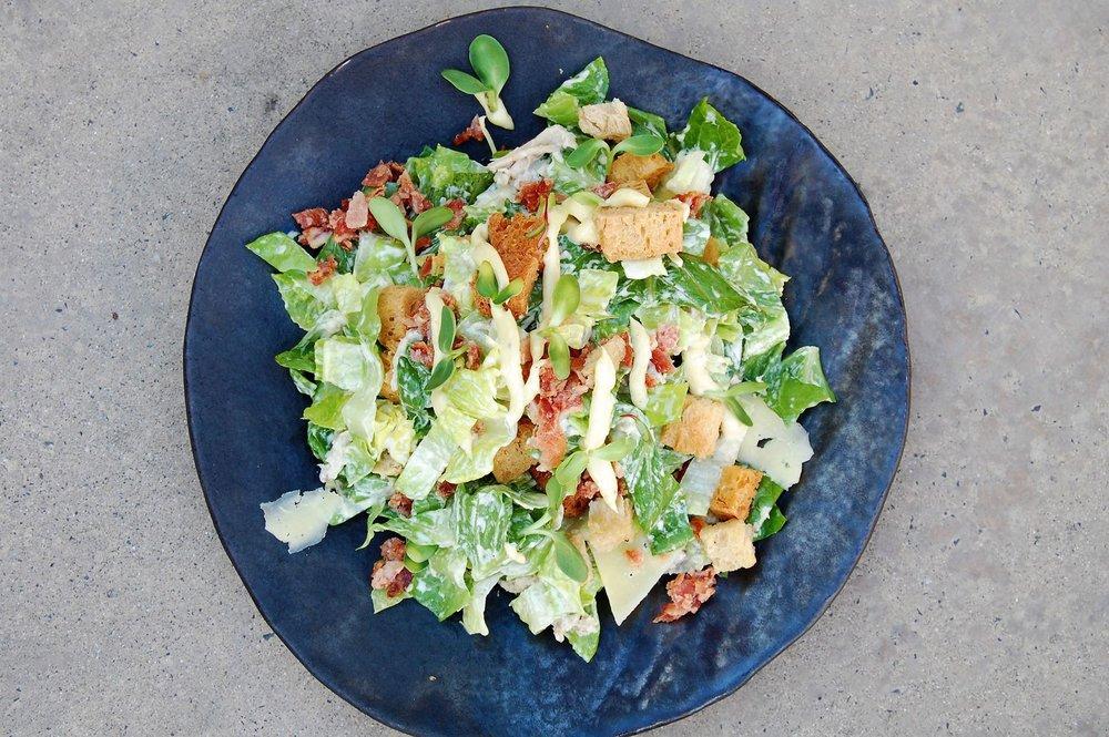 Confit Chicken Ceasar salad