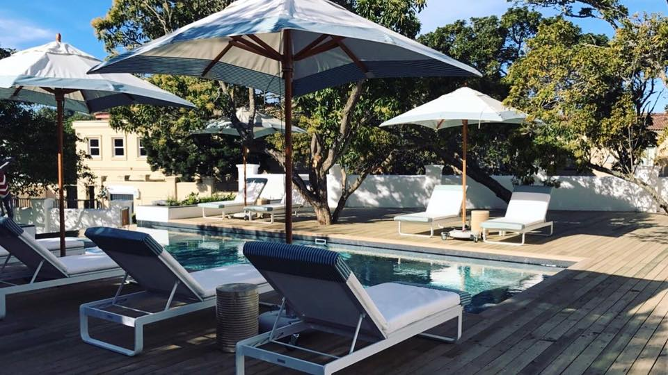 GT Loves: Sitting poolside and taking a stroll down to the beach just meters from the Hotel