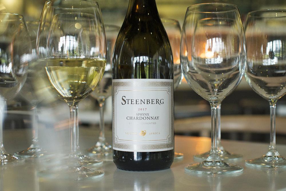 Steenberg Sphynx Chardonnay with glases landscape HR.jpg
