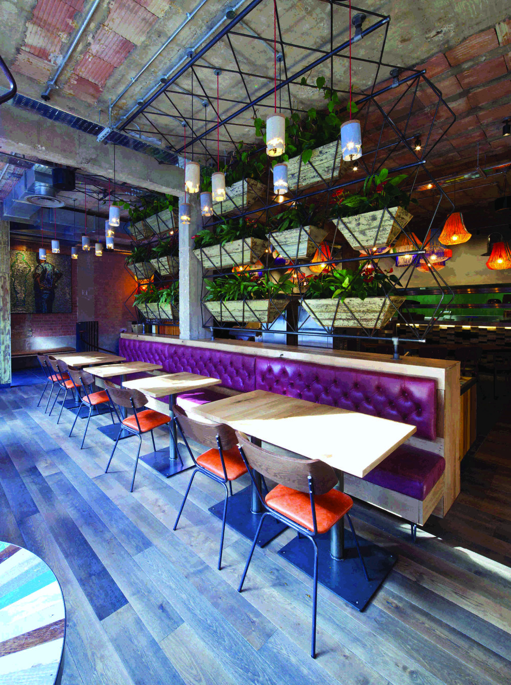 Kudos To South African Brand Nandos For Winning Best Fast Casual Interior Design In The Global Restaurant Bar Awards