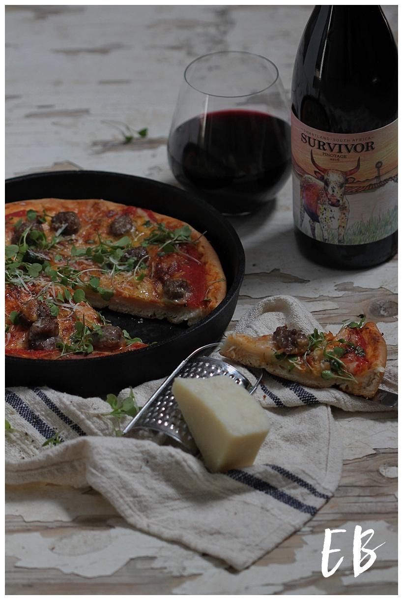 Survivor Pinotage and Pizza-1.jpg