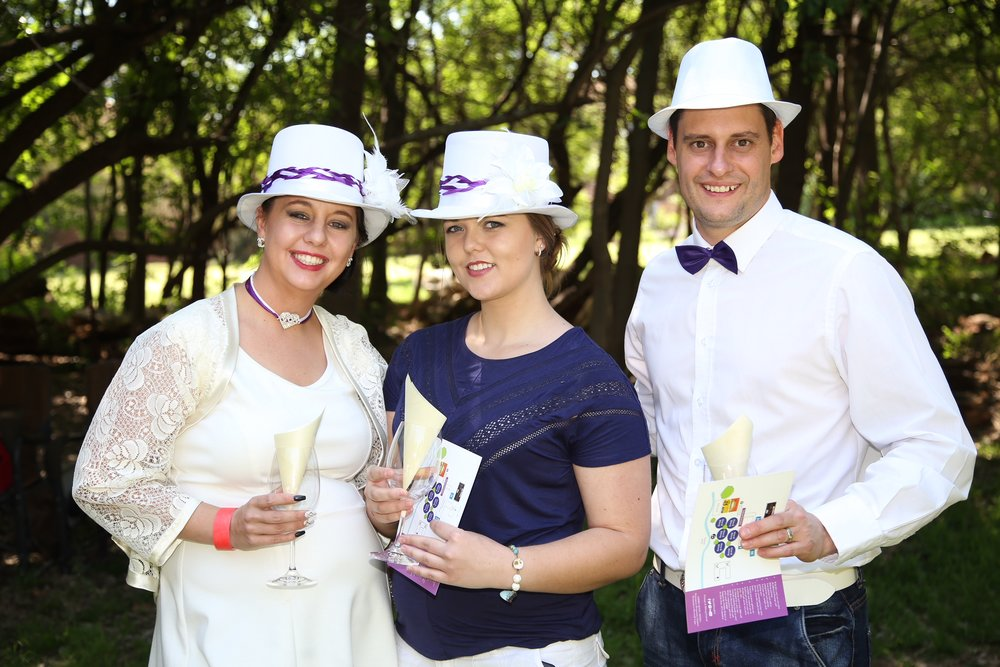 Purple and white for Jessica Roux, Taylor D'Arch and Charl Roux.jpg