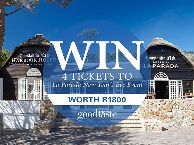 Stand a chance to #WIN tickets for you and 3 friends to New Year's Eve at Constantia Nek with live performances by @jimmynevis and @ardmatthews WORTH R1800 and dance your way into 2018 with two of the biggest names in South Africas music industry! 🥂 🎉  To enter: 1. Like and follow @laparadaza on Facebook 2. Share this post 3. Enter your details here: bit.ly/2BDVuyu (link in bio) 〰️ Please note terms and conditions apply. Competition closes 17th December.