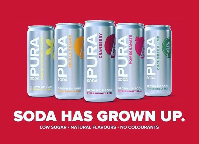 The world has grown up when it comes to leading a healthier lifestyle, so isn't it time soda does, too? Find out more about @pura_soda (link in bio) ✨