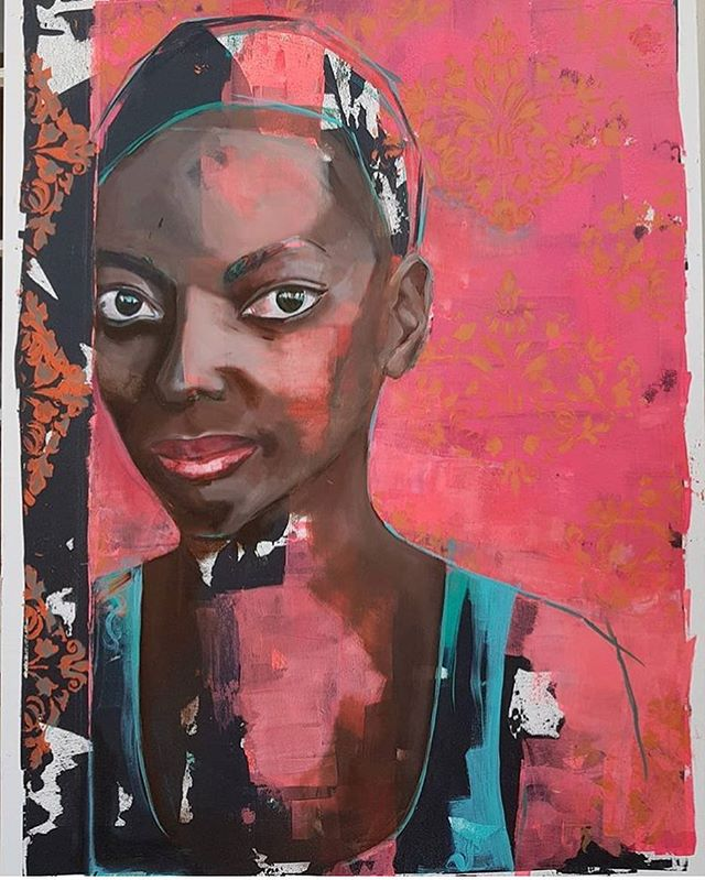 #GTloves Durban artist @colleendlarsen latest collection of contemporary oil portraits 🎨 . . . . . . #SAart #artist #SAart #art #artlover #contemporary #oilpainting #portrait #artist #goodtastemagsa #goodtaste #GTart #artistsoninstagram #artwork #contemporaryart