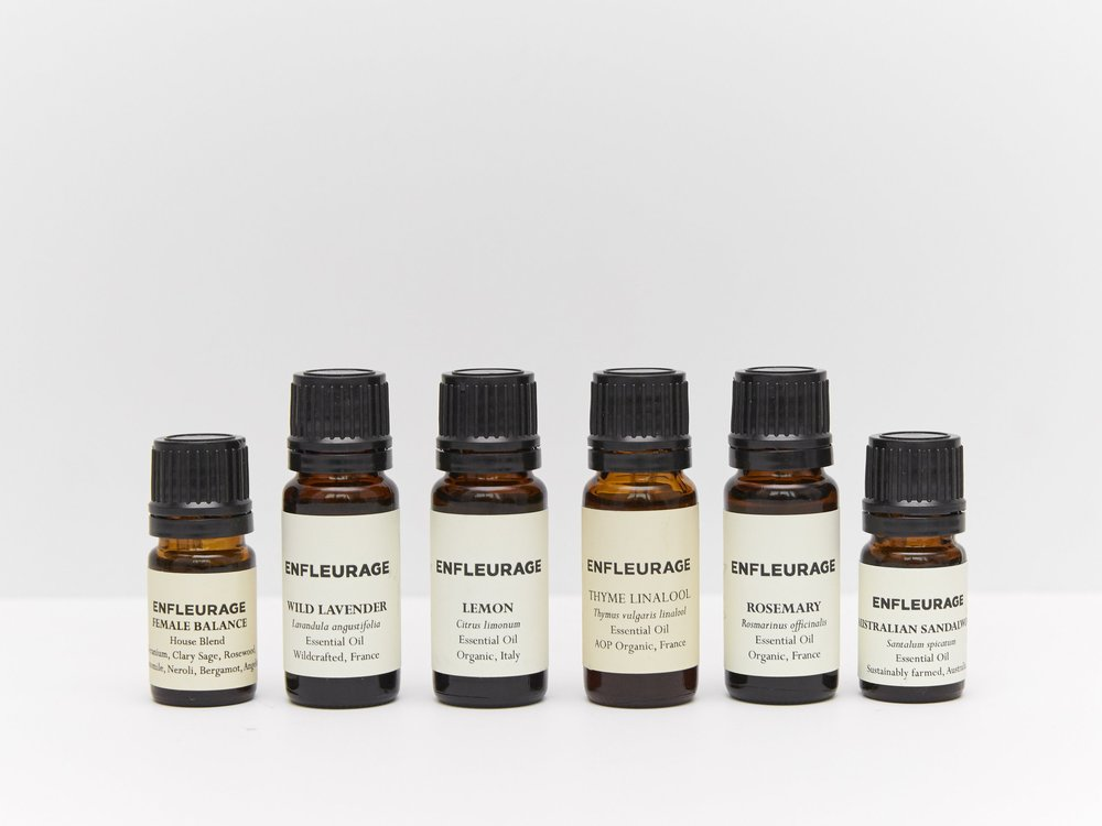 Enfleurage essential oils