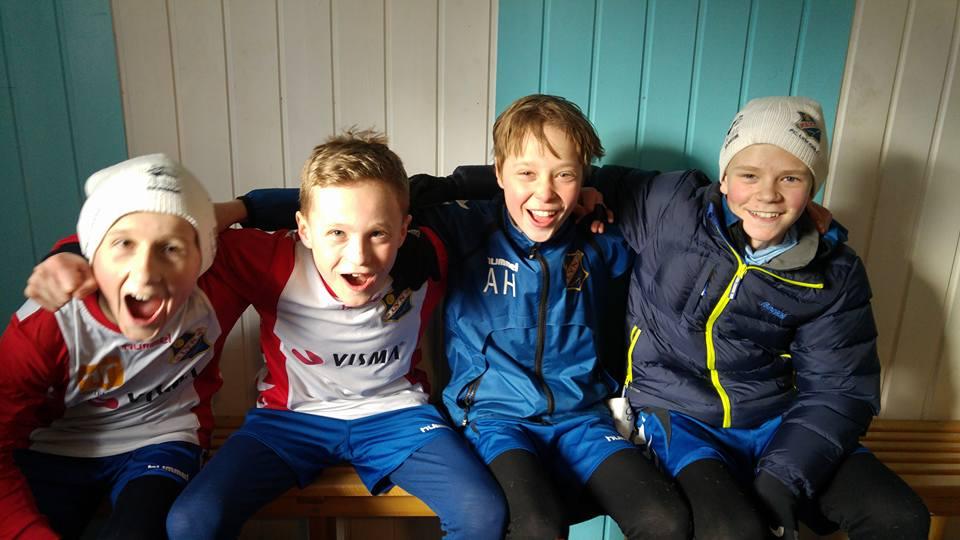 Bilde tatt av: Arnfinn Helleve          Målscorerne mot BMIL!