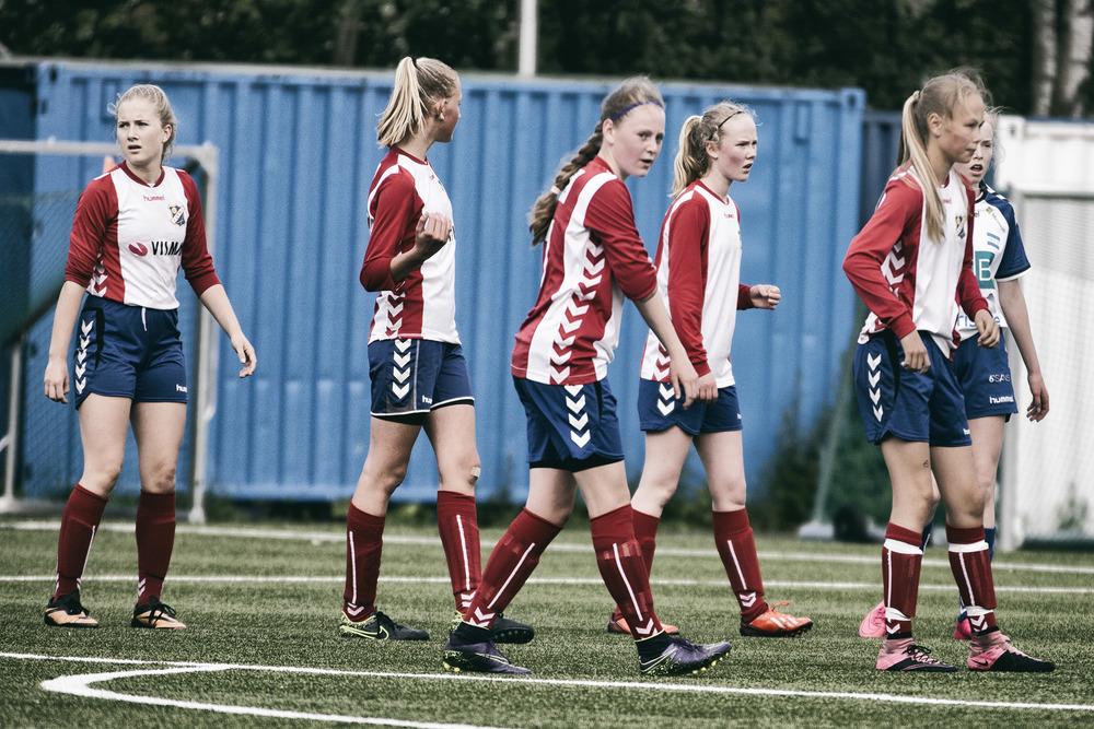 Ikke spesielt fornøyd etter 2-2 mot Nordstrand  Foto: Gunhild Lien