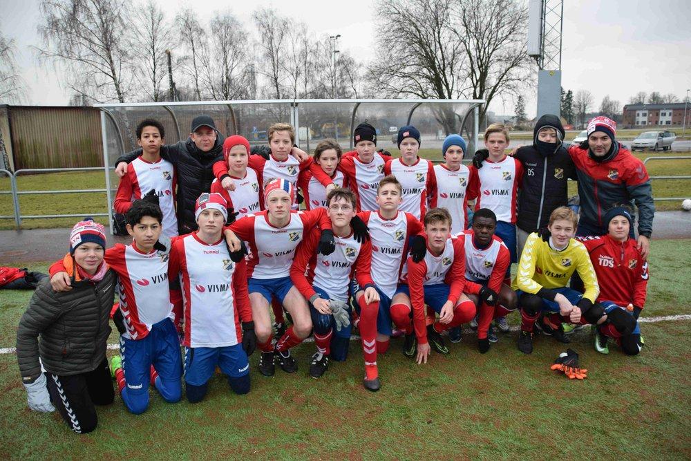 10 av disse gutta skal spille mot Buskerud Kretslag denne helgen! Gratulerer boys, og lykke til!