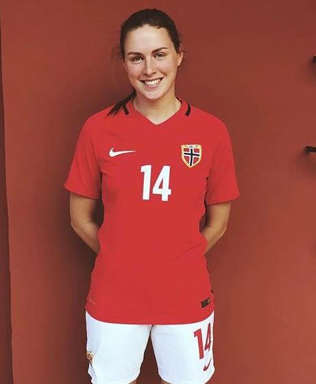 Benedikte Sand Birkelund debuterte på U23-landslaget mot USA denne uken!