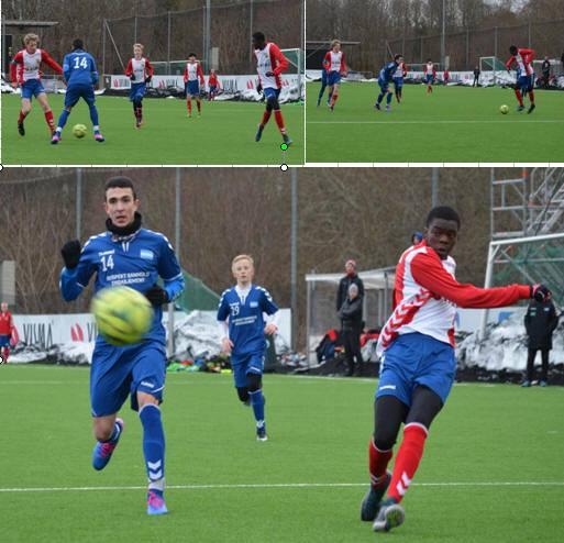 Musa Lowe ble tomålsscorer i kampen mot Nordstrand.