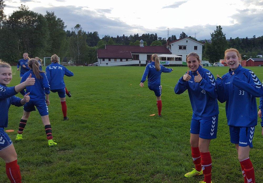 Sofie, Mathia og Bjørnhild er klare til kamp!
