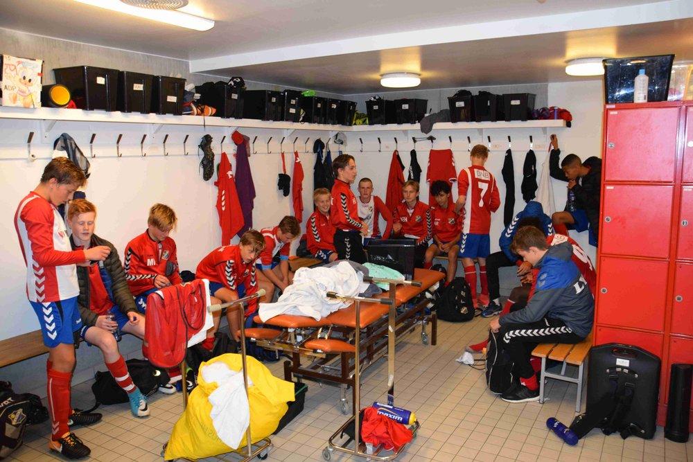 Fornøyd gjeng etter seier 2-1 mot Kolbotn på hjemmebane!