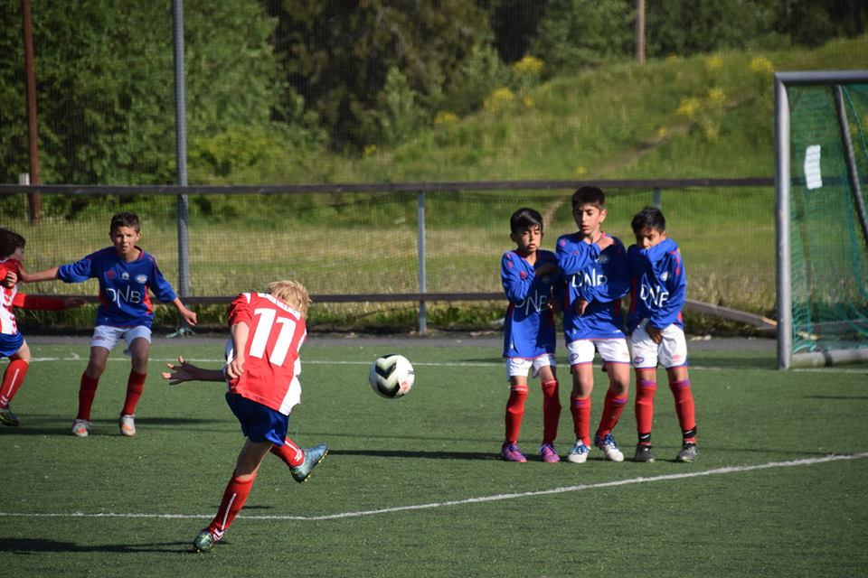 Kick-Off Gutteturnering på Kringsjå.