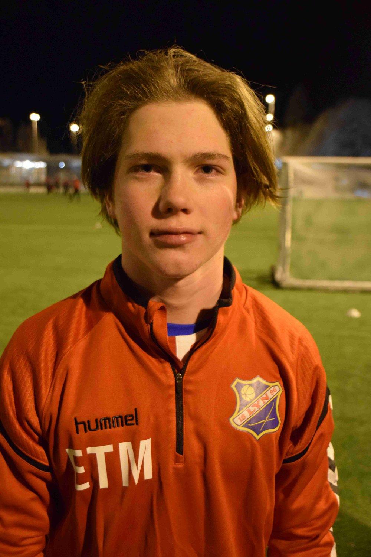 Emil Tiller Myking kom fra Høvik denne vinteren.